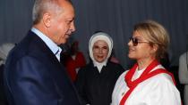 Erdoğan Yenikapı'da Çiller'le görüştü