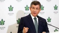 Ahmet Davutoğlu'ndan kötü haber!