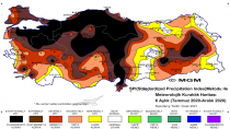 Meteoroloji'den il il kuraklık raporu