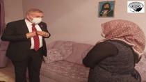 CHP Milletvekili Kaya'dan dar gelirli aileyi ziyaret