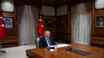 Cumhurbaşkanı Erdoğan ve Macron konuştu