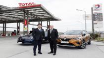 TOTAL'den yapacağınız akaryakıt alışverişleriyle Renault aracınız güvende