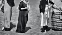 Filistinli sivillerden tutuklu kadınlar için dayanışma gösterisi