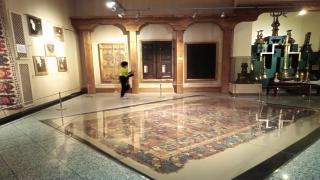 Halı motiflerinin anlamı bu galeride - Ankara Vakıf Eserleri müzesi