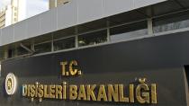 Dışişleri Bakanlığı: Türkiye Filistin halkının haklı davasına destek vermeye devam edecektir