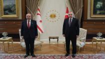 Cumhurbaşkanı Erdoğan ve KKTC Cumhurbaşkanı Tatar görüştü