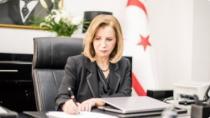 KKTC Bayındırlık Bakanı Resmiye Canaltay, Ankara'ya geliyor
