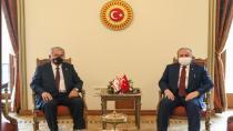 TBMM, Kıbrıs Mesclis Başkanı Sennaroğlu'nu ağırladı