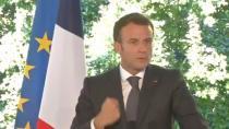 Macron , tokat aşırı sağ gruplara odaklandı