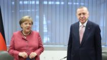 Başkan Erdoğan ve Merkel görüşmesi başladı