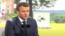 Fransa Cumhurbaşkanı Macron'dan aşı karşıtlarına tepki