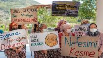 Orhanlı Köylüleri jeotermal santrale karşı direniyor