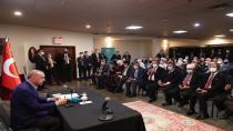 Cumhurbaşkanı Erdoğan, ABD'deki Müslüman toplumunun temsilcileriyle bir araya geldi