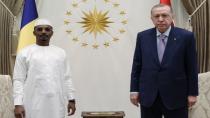 Cumhurbaşkanı Erdoğan, Çad Geçiş Dönemi Devlet Başkanı Itno ile ortak basın toplantısı düzenledi